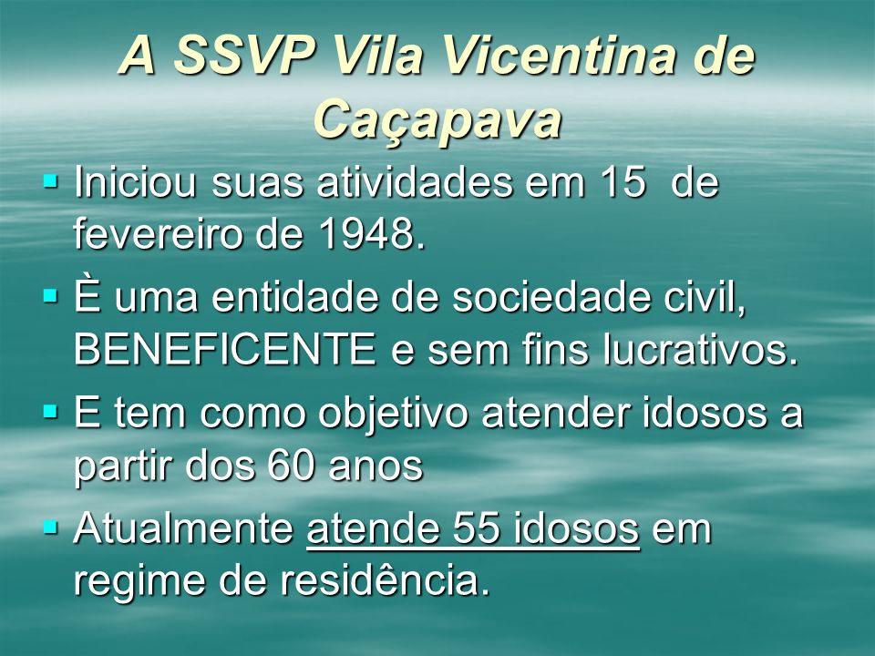 A SSVP Vila Vicentina de Caçapava