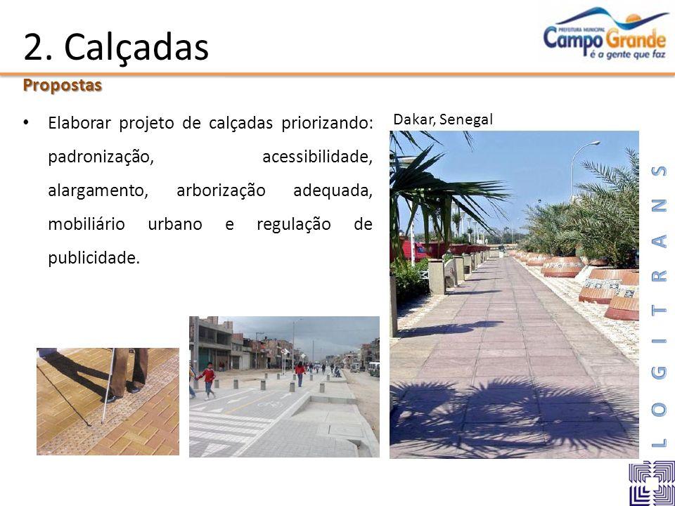 2. Calçadas Propostas.