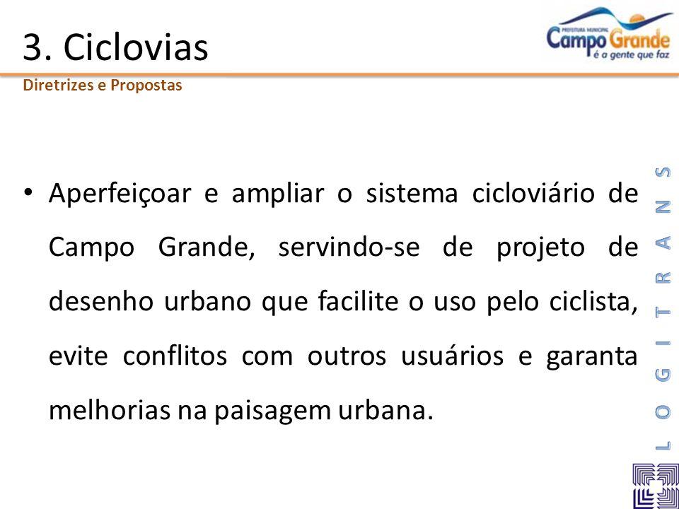 3. Ciclovias Diretrizes e Propostas.