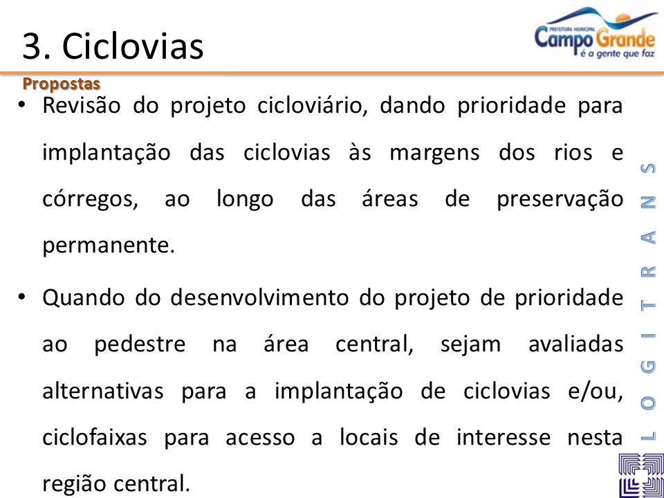 3. Ciclovias Propostas.