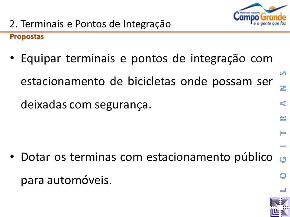 2. Terminais e Pontos de Integração