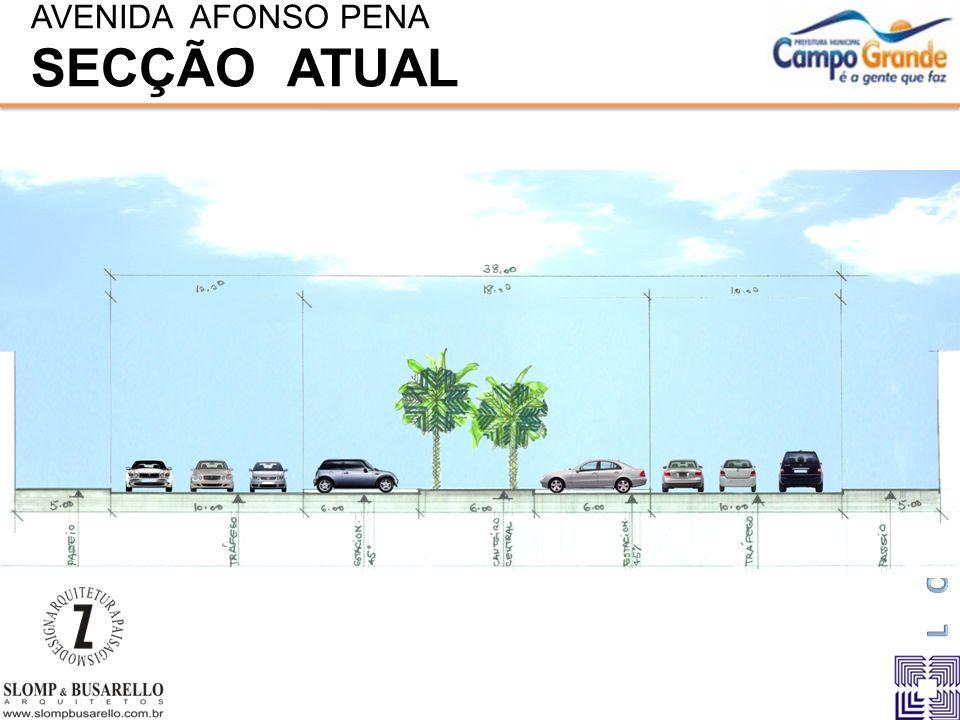 AVENIDA AFONSO PENA SECÇÃO ATUAL
