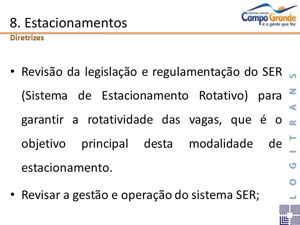 8. Estacionamentos Diretrizes.