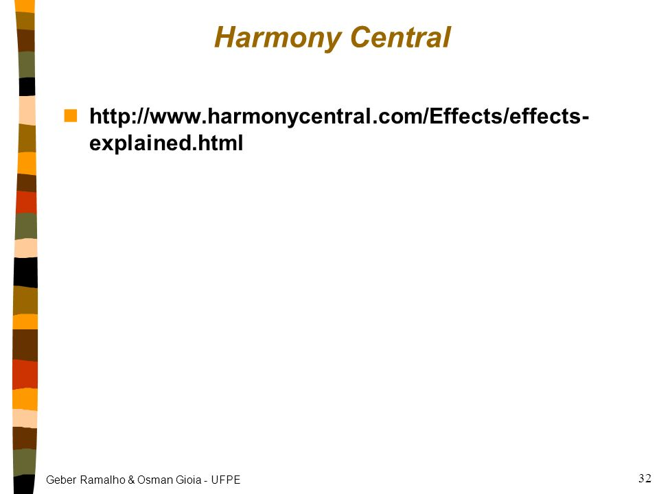 Harmony Central http://www.harmonycentral.com/Effects/effects- explained.html