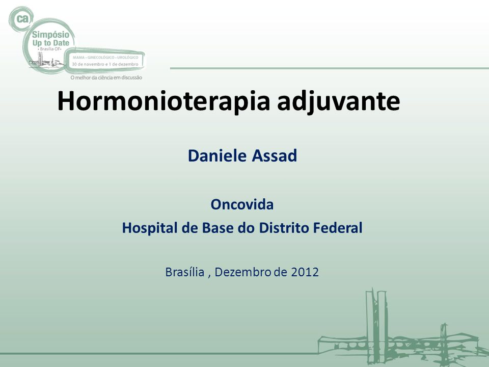 Hormonioterapia adjuvante