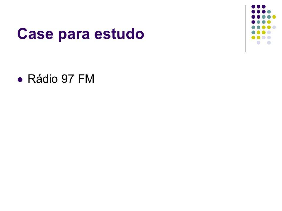 Case para estudo Rádio 97 FM