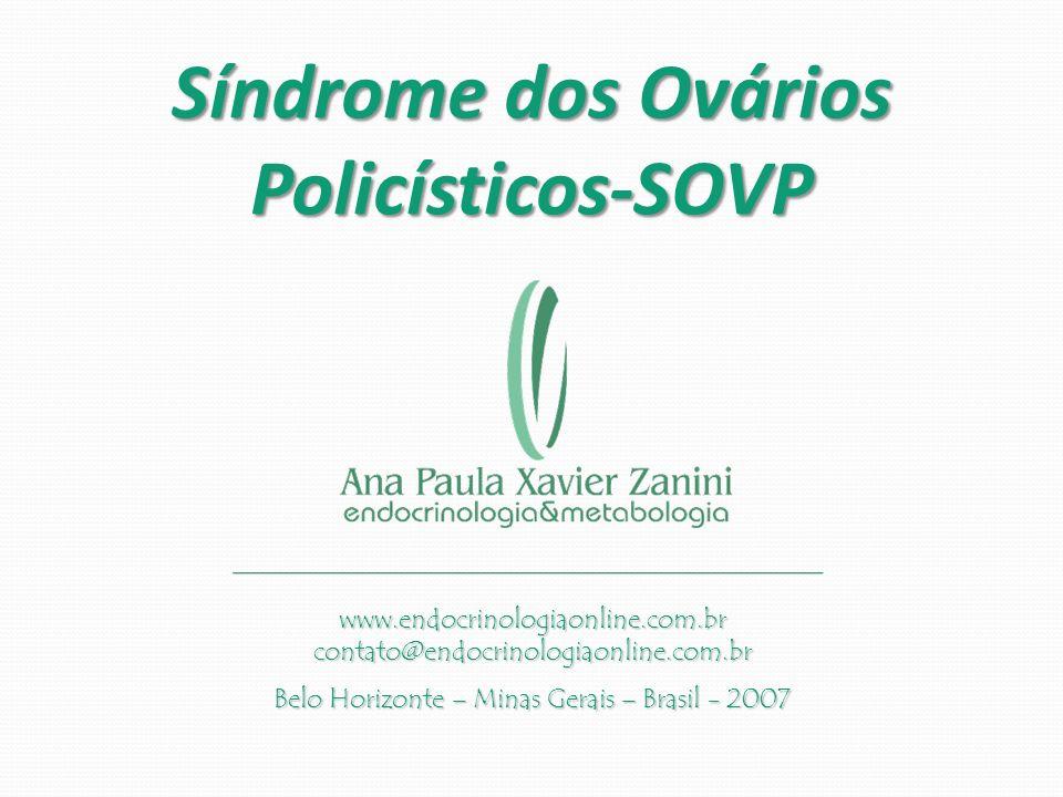 Síndrome dos Ovários Policísticos-SOVP