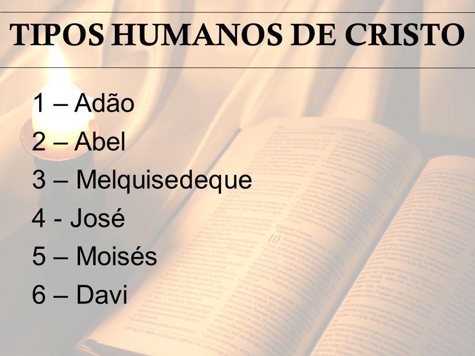 TIPOS HUMANOS DE CRISTO