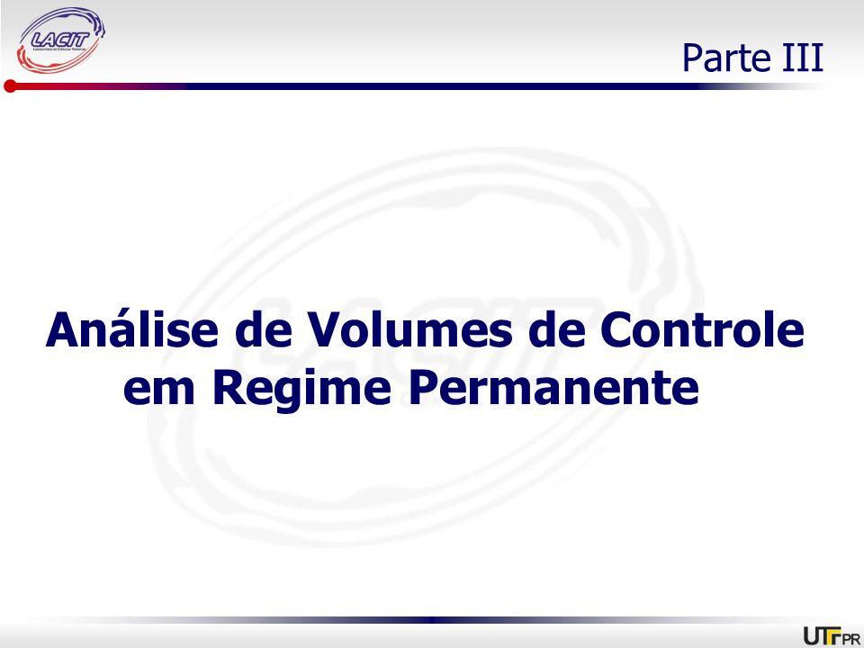 Análise de Volumes de Controle em Regime Permanente
