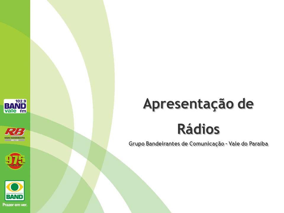 Grupo Bandeirantes de Comunicação – Vale do Paraíba
