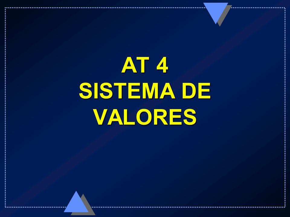 AT 4 SISTEMA DE VALORES