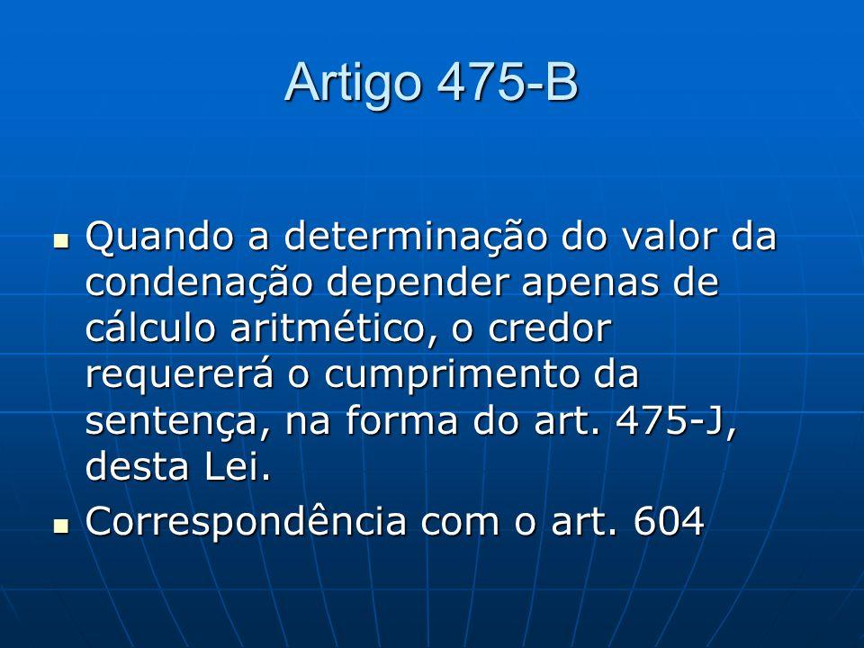 Artigo 475-B