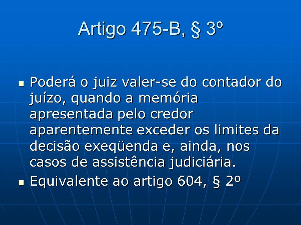 Artigo 475-B, § 3º