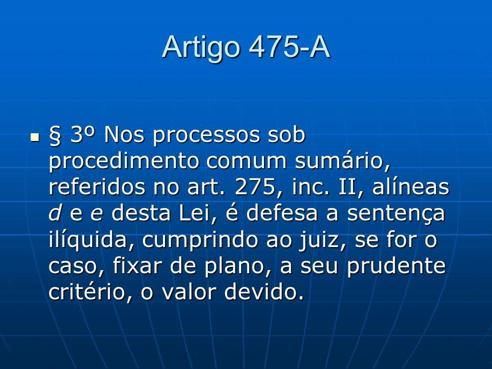 Artigo 475-A