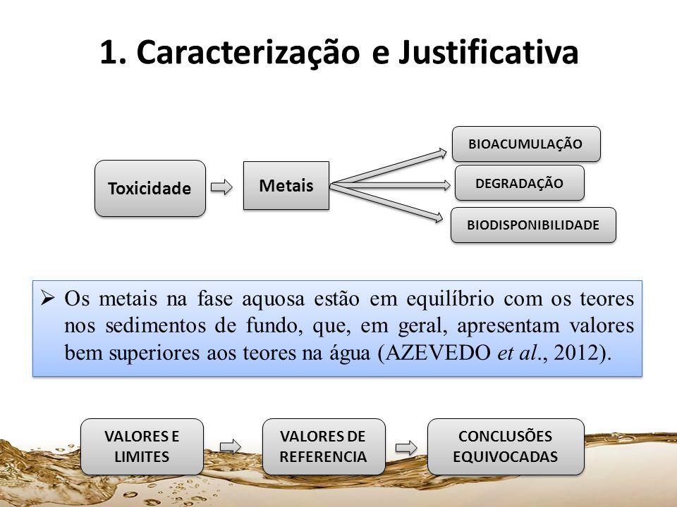 1. Caracterização e Justificativa CONCLUSÕES EQUIVOCADAS