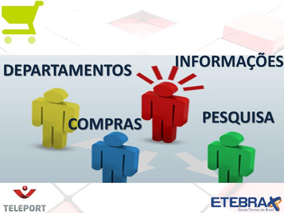 INFORMAÇÕES DEPARTAMENTOS COMPRAS PESQUISA