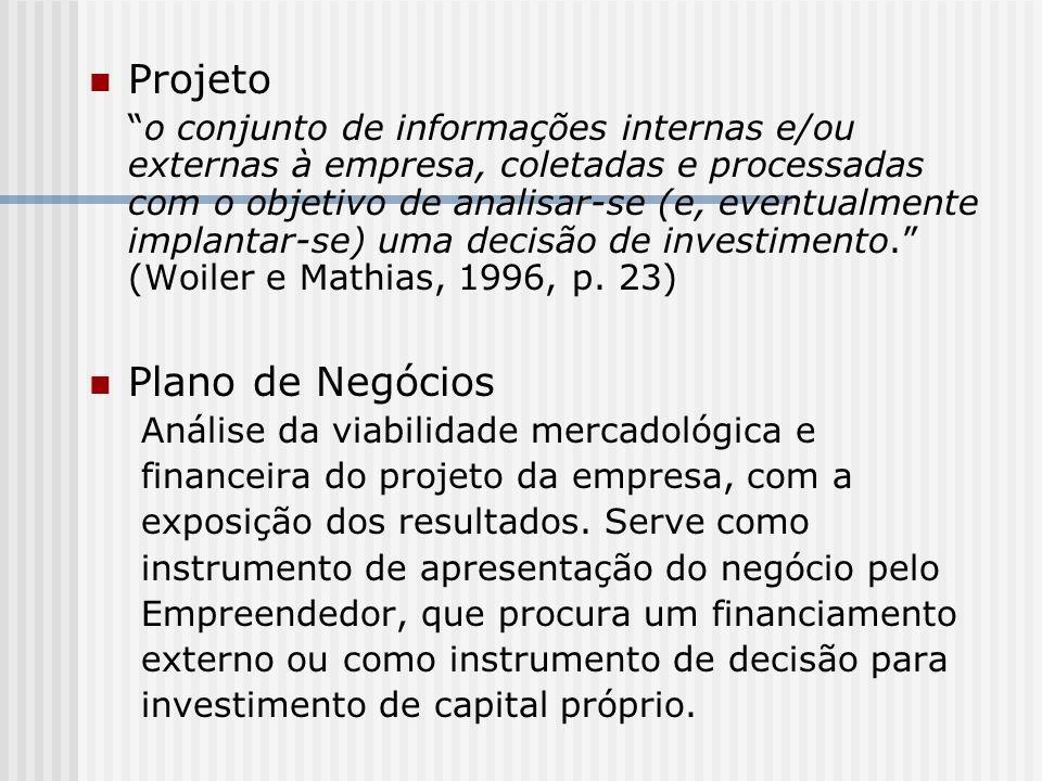 Projeto Plano de Negócios