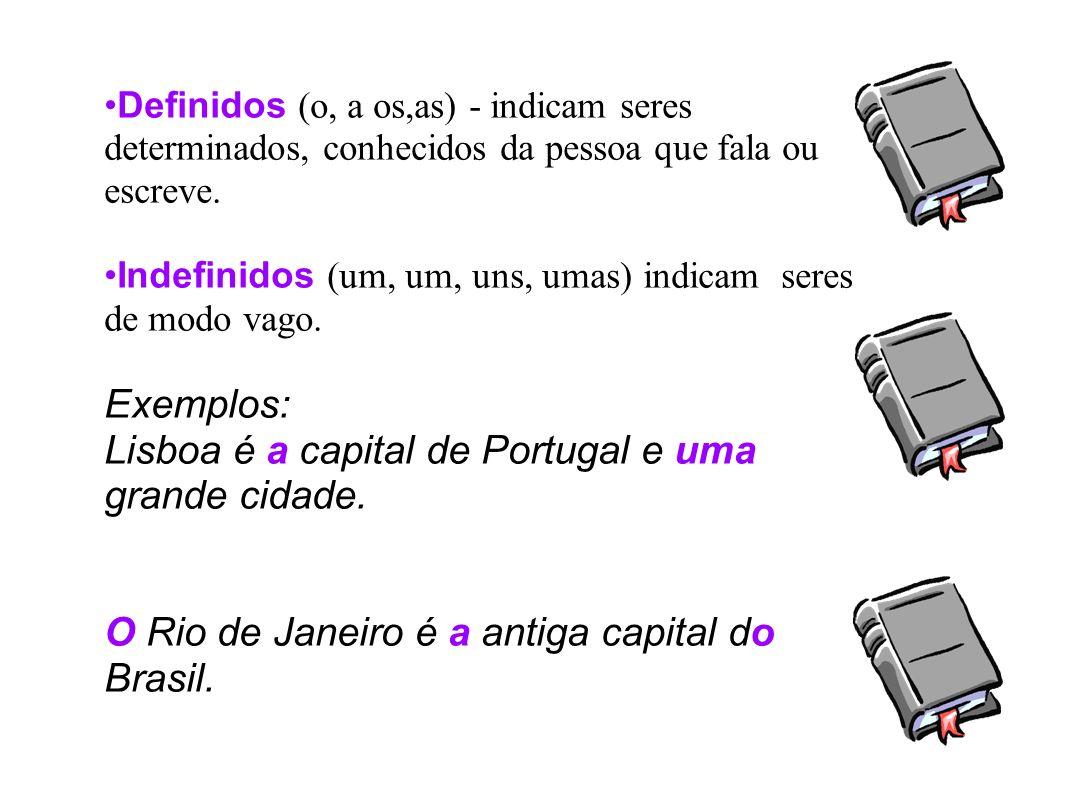 Lisboa é a capital de Portugal e uma grande cidade.