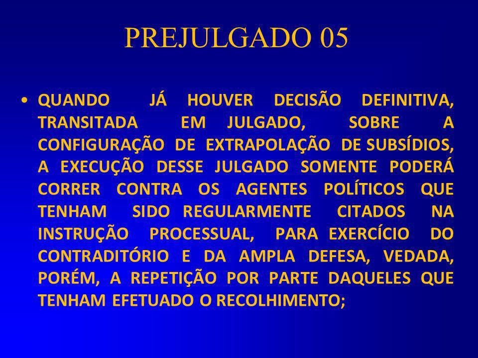 PREJULGADO 05
