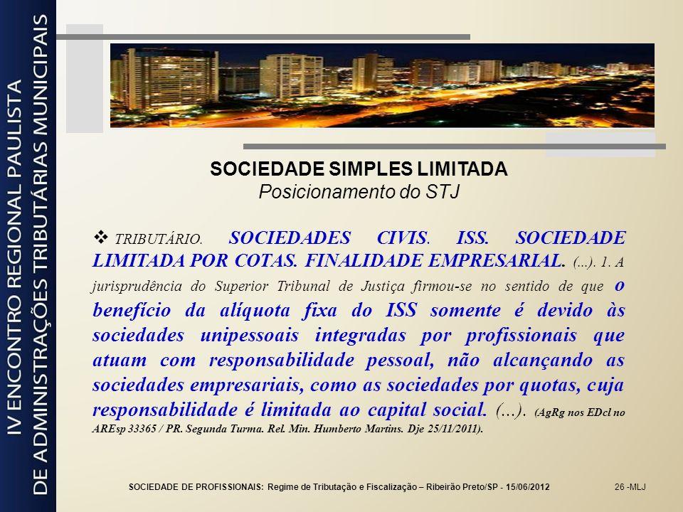 SOCIEDADE SIMPLES LIMITADA