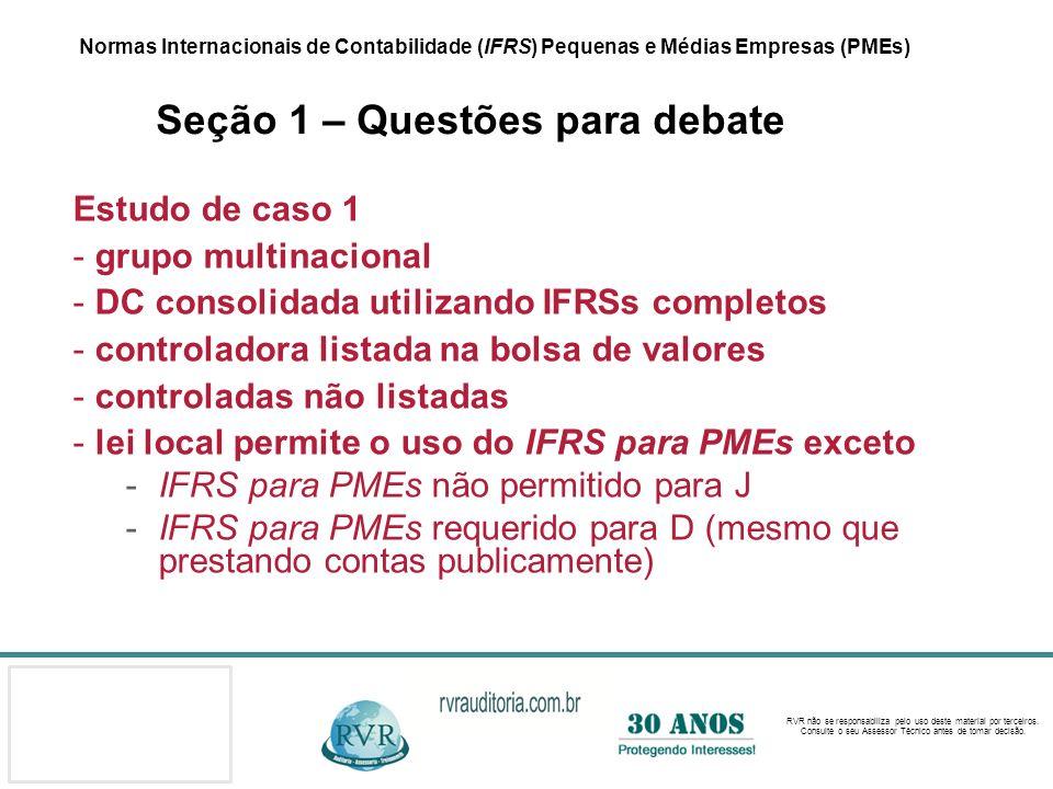 DC consolidada utilizando IFRSs completos