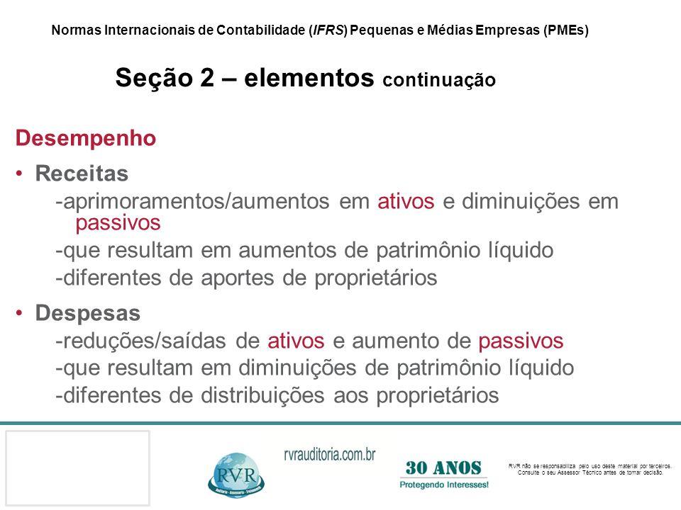 -aprimoramentos/aumentos em ativos e diminuições em passivos