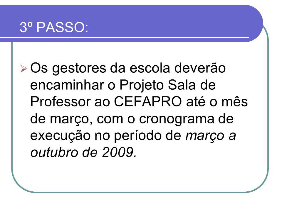 3º PASSO: