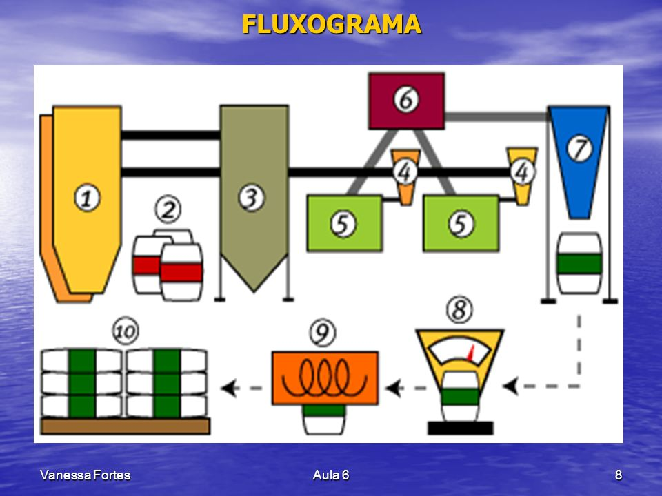 FLUXOGRAMA Vanessa Fortes Aula 6