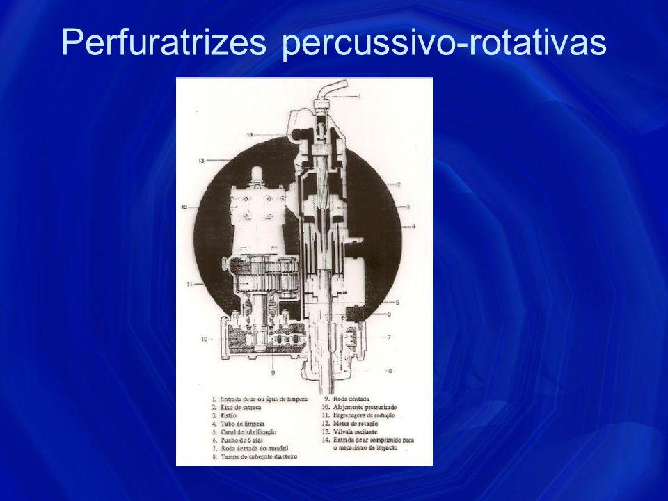 Perfuratrizes percussivo-rotativas