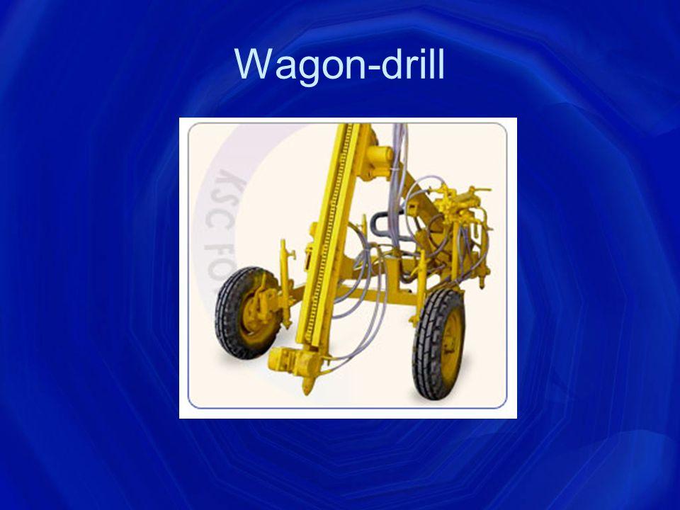 Wagon-drill