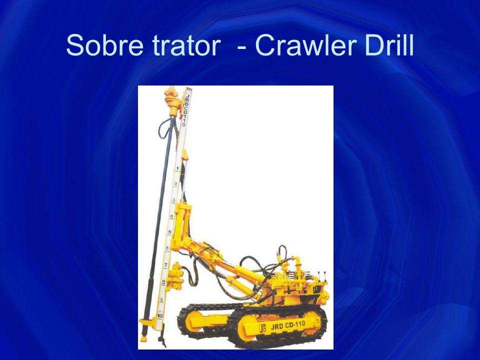 Sobre trator - Crawler Drill