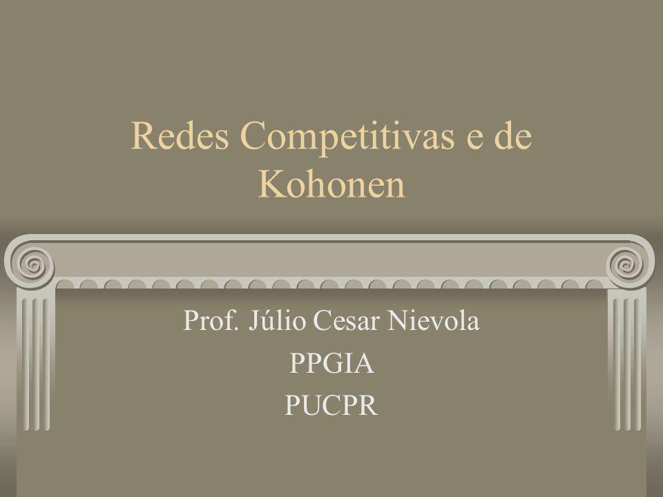 Redes Competitivas e de Kohonen