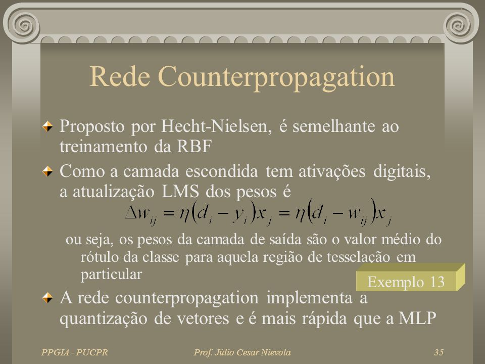 Rede Counterpropagation