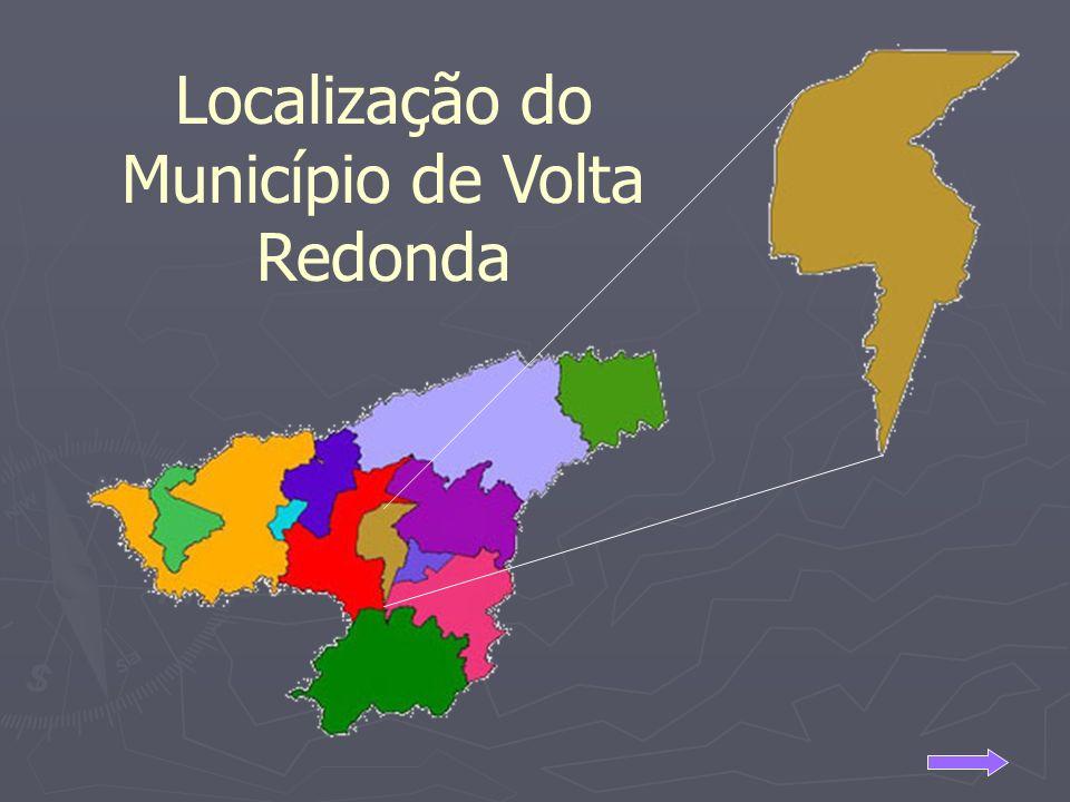 Localização do Município de Volta Redonda