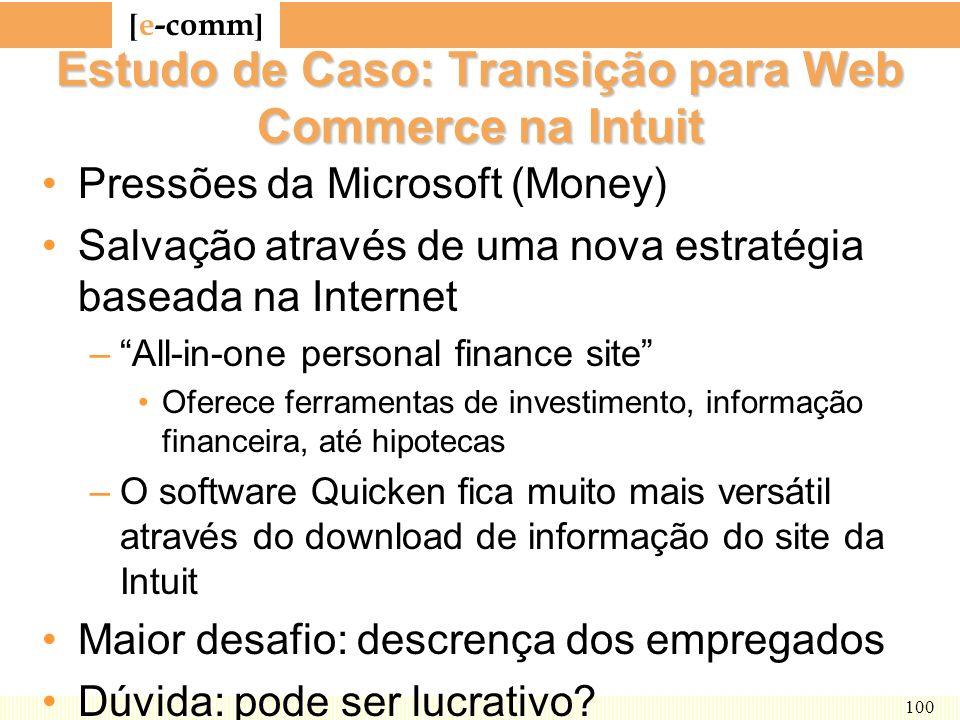 Estudo de Caso: Transição para Web Commerce na Intuit