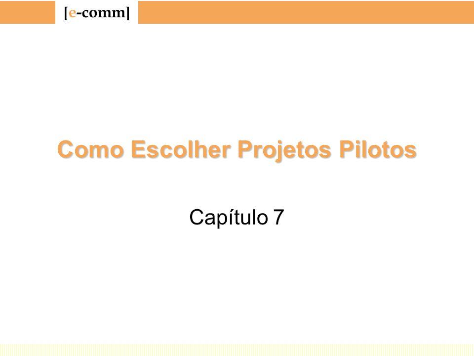 Como Escolher Projetos Pilotos