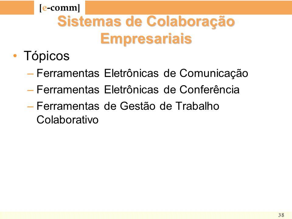 Sistemas de Colaboração Empresariais
