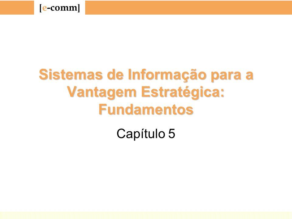 Sistemas de Informação para a Vantagem Estratégica: Fundamentos