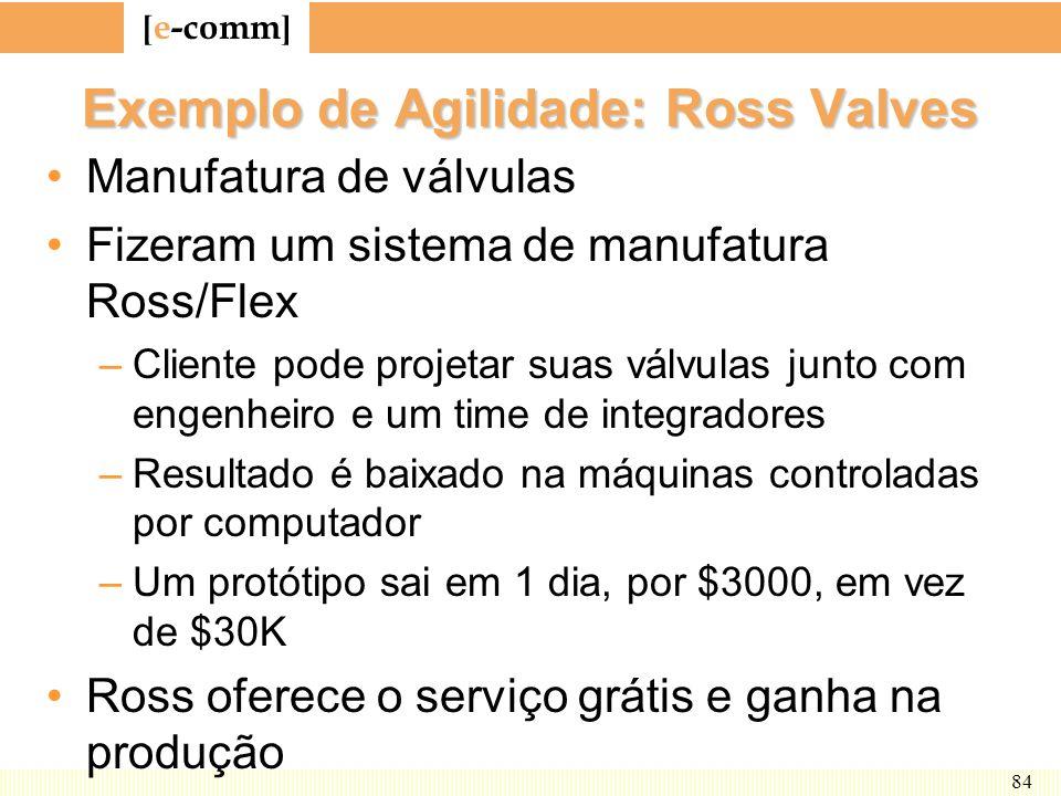 Exemplo de Agilidade: Ross Valves
