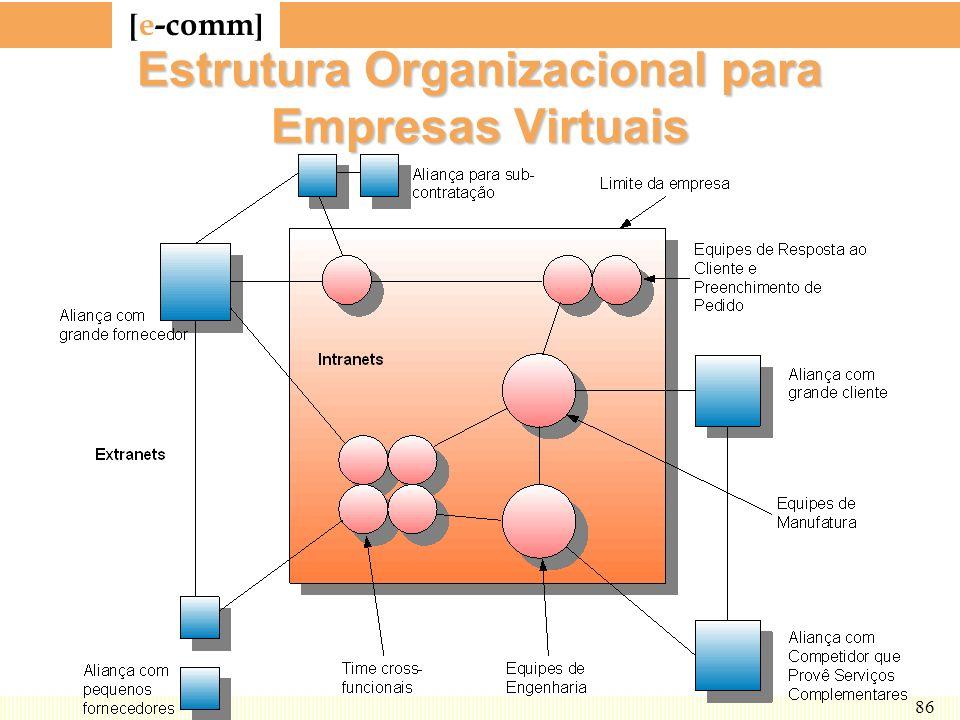 Estrutura Organizacional para Empresas Virtuais