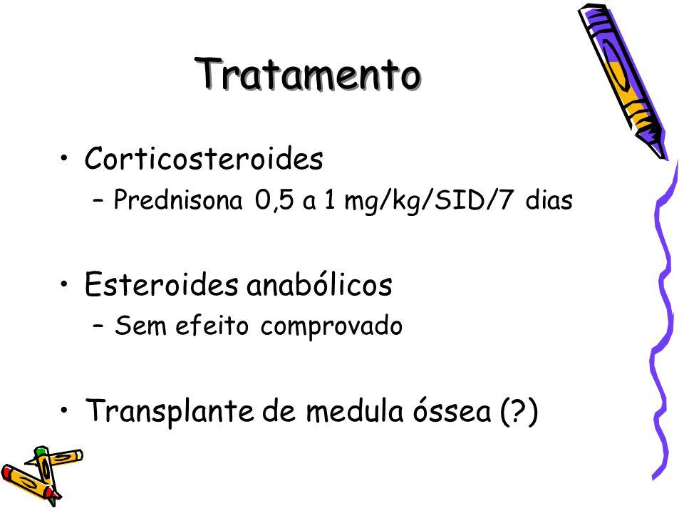 Tratamento Corticosteroides Esteroides anabólicos