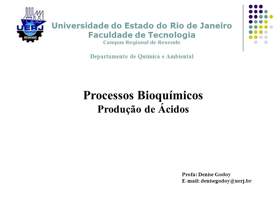 Processos Bioquímicos