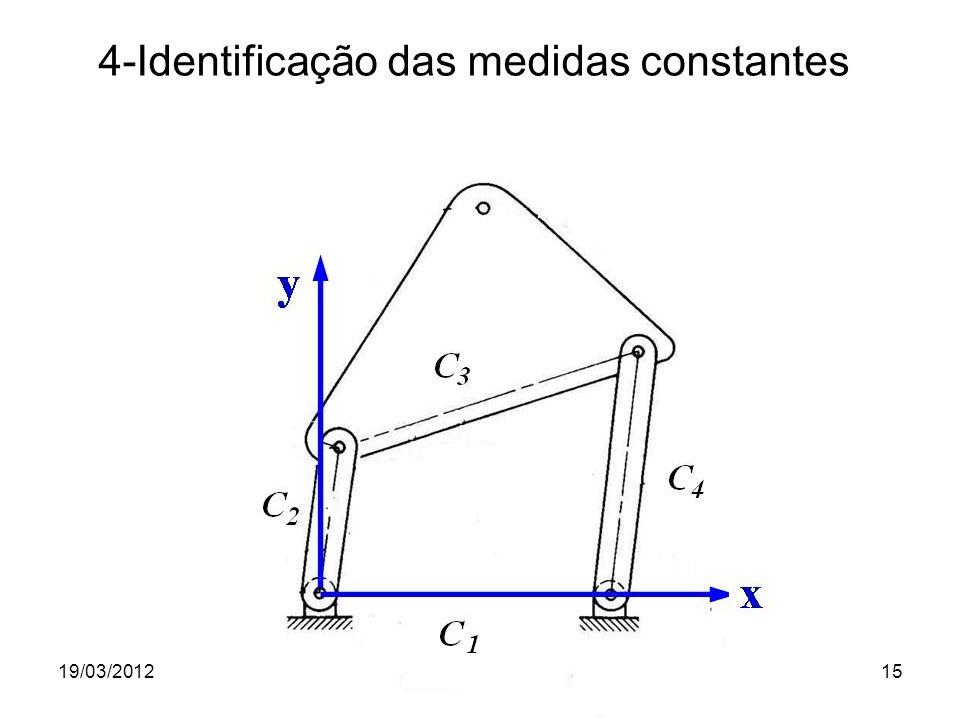 4-Identificação das medidas constantes