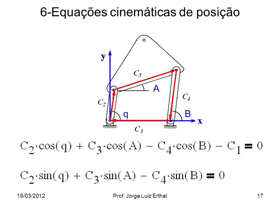 6-Equações cinemáticas de posição