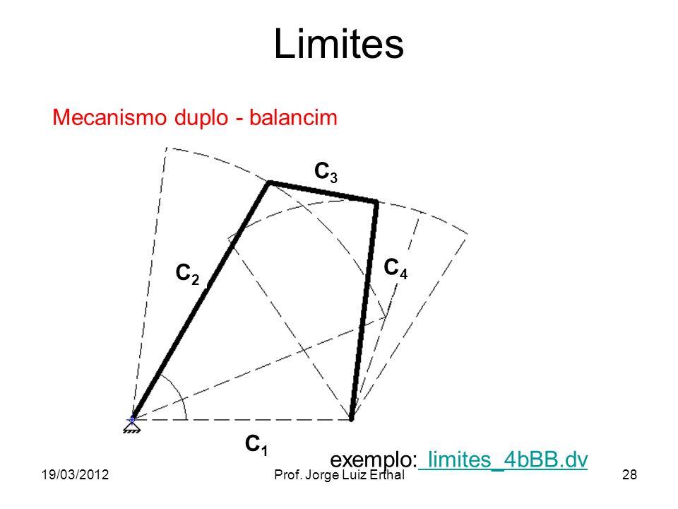 Limites Mecanismo duplo - balancim C3 C4 C2 C1