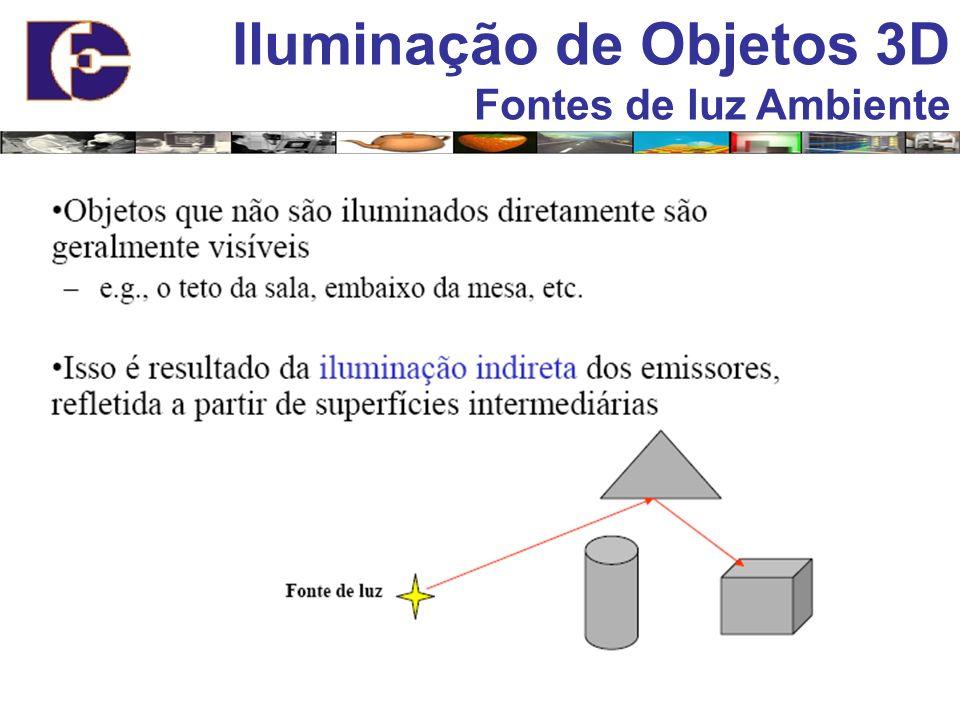 Iluminação de Objetos 3D