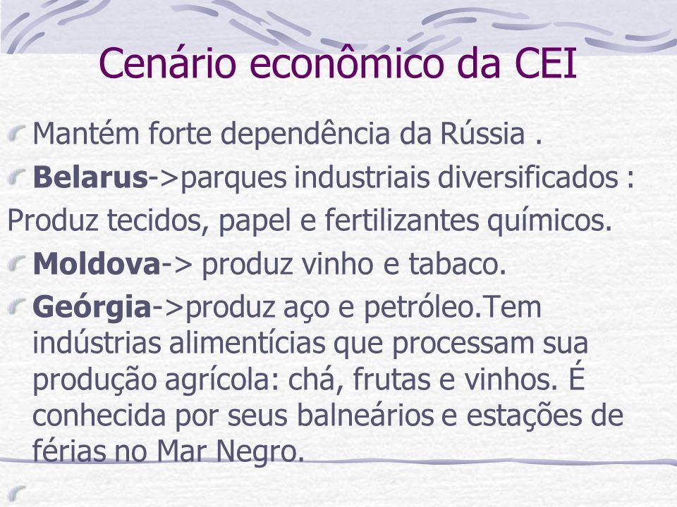 Cenário econômico da CEI