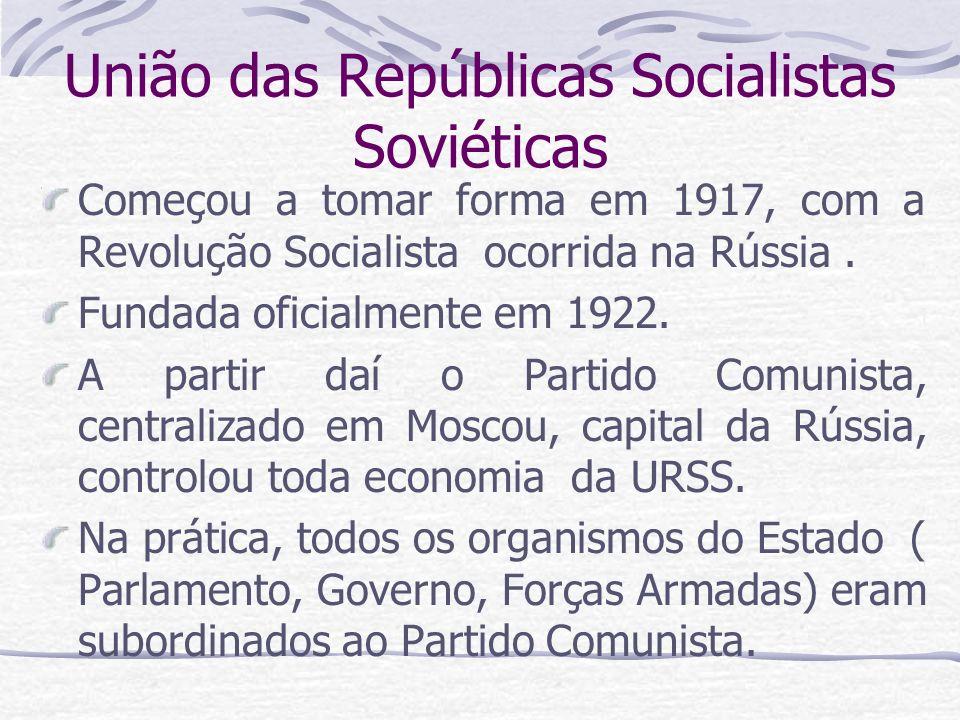 União das Repúblicas Socialistas Soviéticas