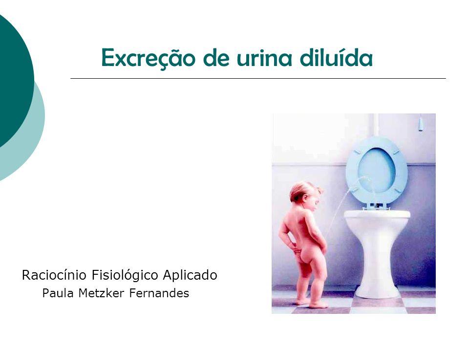 Excreção de urina diluída