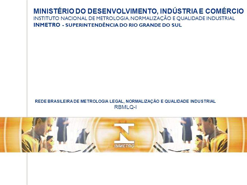MINISTÉRIO DO DESENVOLVIMENTO, INDÚSTRIA E COMÉRCIO